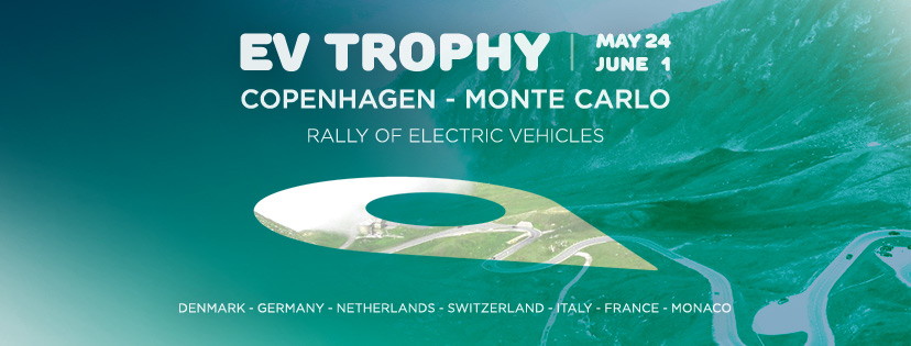 Today (May, 24) has started EV TROPHY from Copenhagen to Monte Carlo